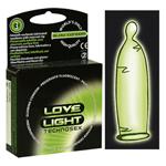 Love Light Leuchtkondom 3er