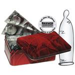 50 transparente dünne Kondome