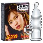 Secura Japan Rubber 3 Stück