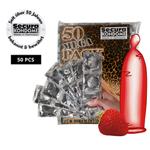 50 Kondome mit Erdbeergeschmack