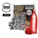 Secura Red Sin Kondome - 100 Stück