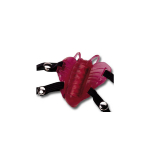 Strap-on butterfly