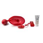 Vibrerende vaginapomp - rood
