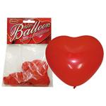 Hartjes Ballonnen - 6 Stuks