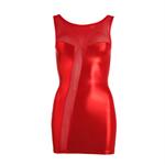 Mini-jurk - rood