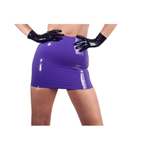 Latex minirok -...
