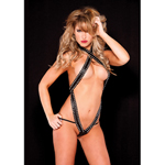 Faux Leather Teddy...