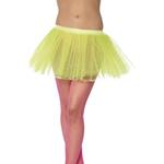 Tutu Underskirt Neon Yellow 4 Layers 30cm Long