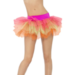 Tutu Underskirt Multi-Coloured Neon Layered