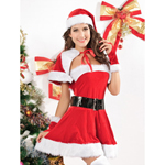 5-delige Miss Santa Outfit