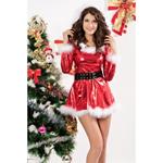 Kerstpakje - Punky Santa Hoody