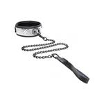 Halsband Met Riem - Zilverkleurig