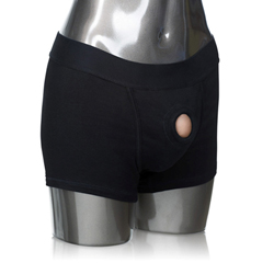 Packer Gear - Short Harnas Zwart