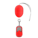 10 Speed Remote Vibrating Egg Red