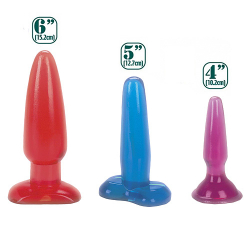 Jammers Buttplug Set