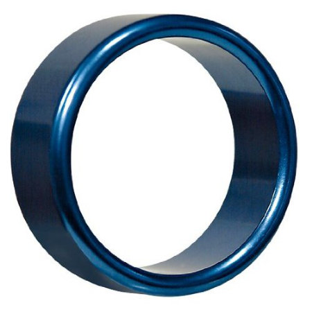 Hot Metal Ring Blue