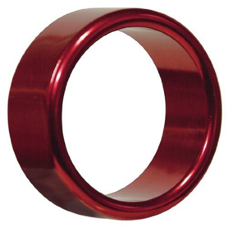 Hot Metal Ring red