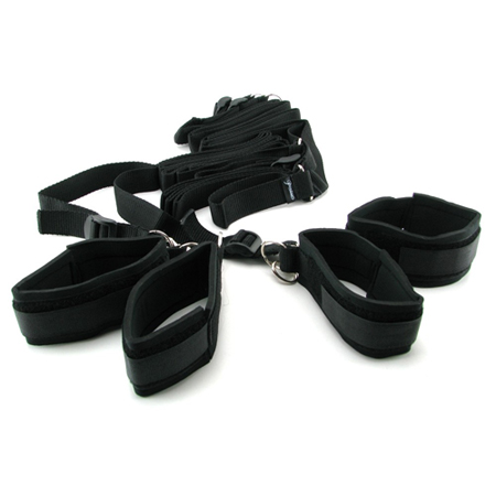 Fetish Fantasy Bed Restraint Bondage Kit