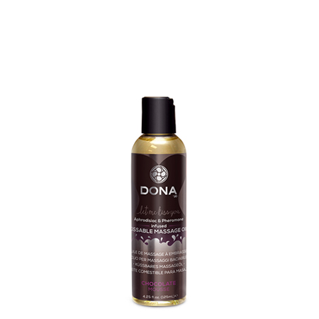 Dona Kissable Massage oil Chocolate