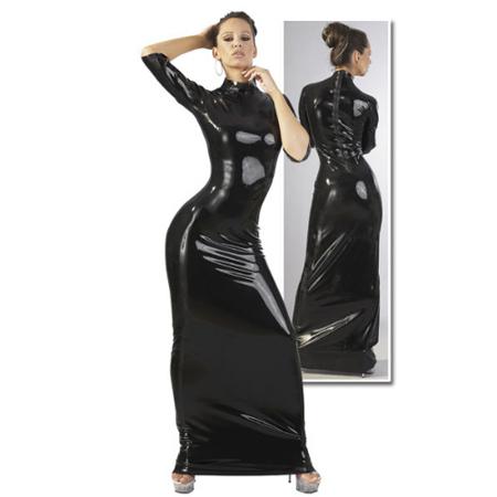 Extravagante Latex jurk