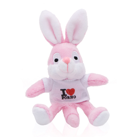 Naughty Bunny Magneet - Wit