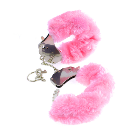 Original Furry Cuffs - Roze