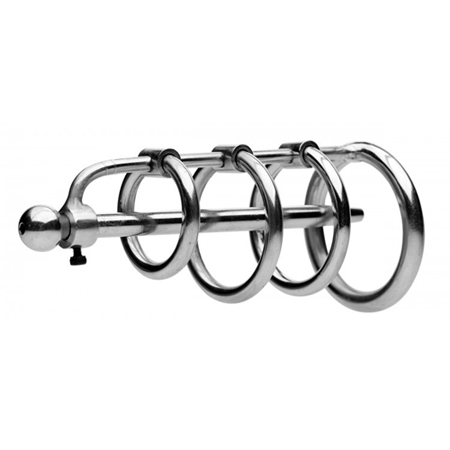 Gates of Hell Stainless Steel Adjustable Cum Through Sound Cage