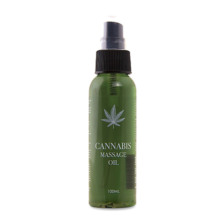 Cannabis Massageolie - 100ml
