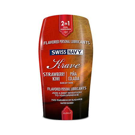 Swiss Navy Krave 2-in-1 Glijmiddel - 50ml