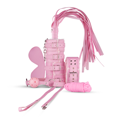 Bellamy Beginners Bondage Set - Roze