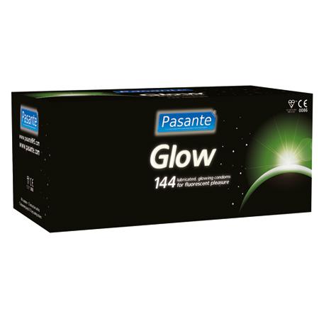Pasante Glow condooms 144stuks