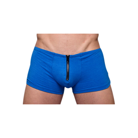 Royal Blue Zip It - Herenboxershort met rits