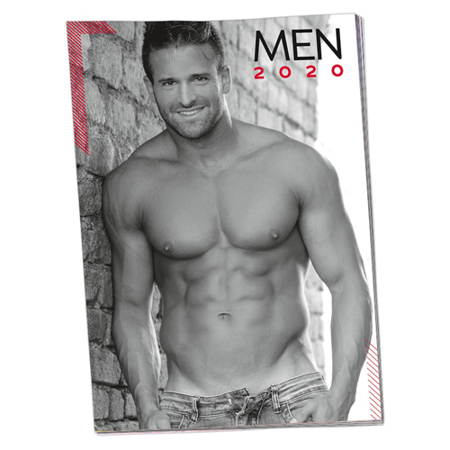 Pin-up Kalender Mannen 2018 – You2Toys