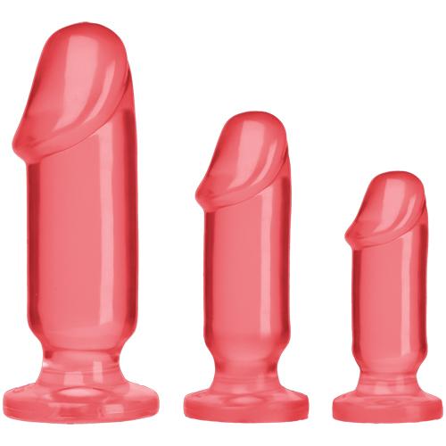 Anal Starter Kit – Roze Roze – Crystal Jellies