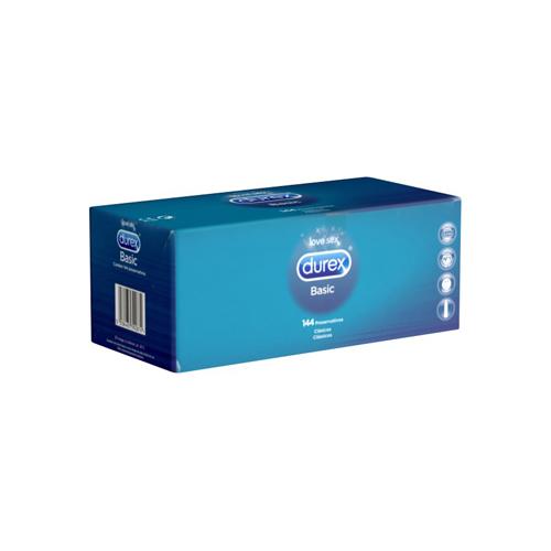 144 Durex Basic condooms