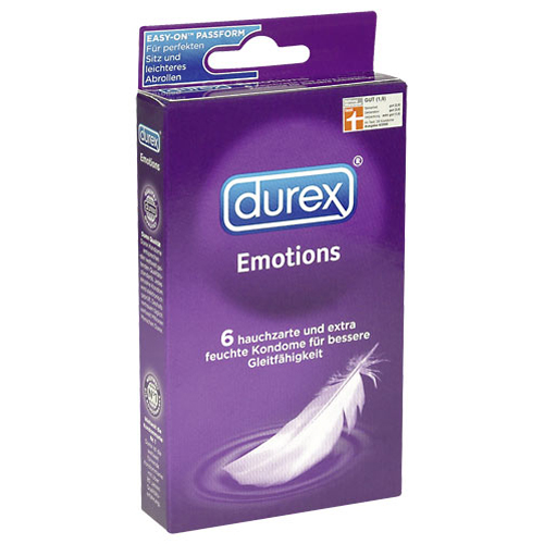 6 Durex Emotions Condooms