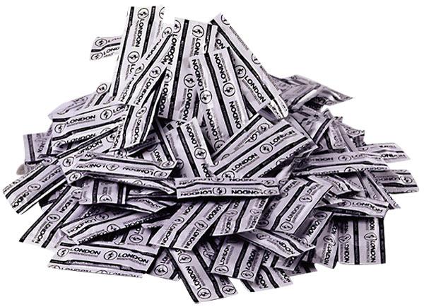 1000 Durex London condooms