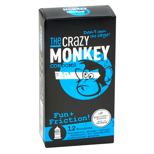 TCMC Fun & Friction! – 12 stuks Transparant – The Crazy Monkey