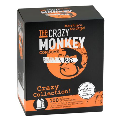 TCMC Crazy Collection! Condooms – 100 stuks – The Crazy Monkey