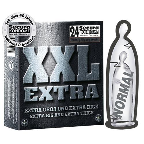 24 Secura Extra Grote Condoom
