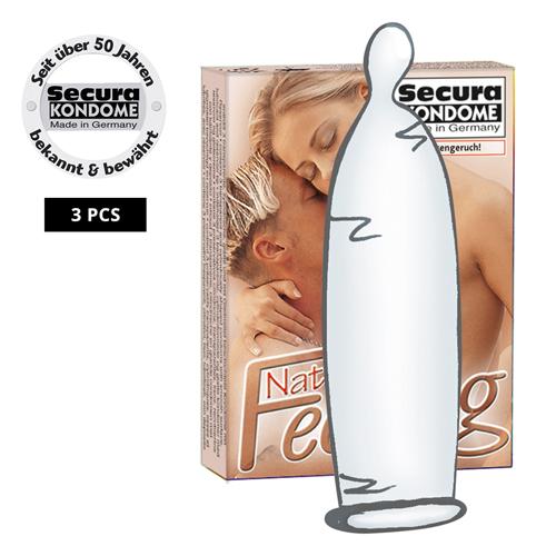3 Dunne Secura Condooms
