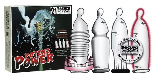 Potentieverhogende condooms 21 stuks
