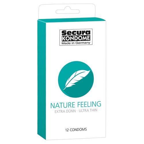 Nature Feeling Condooms – 12 Stuks Transparant – Secura Kondome