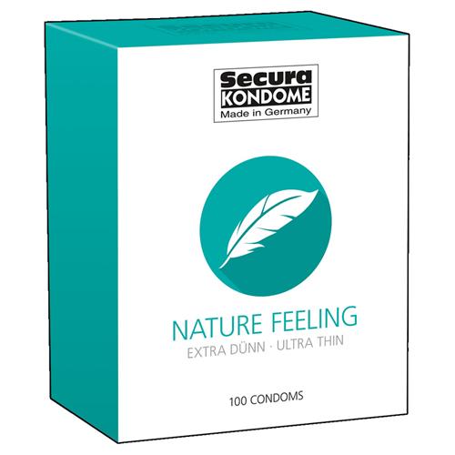 Nature Feeling Condooms – 100 Stuks Transparant – Secura Kondome