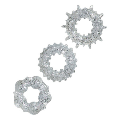 Drie cockrings