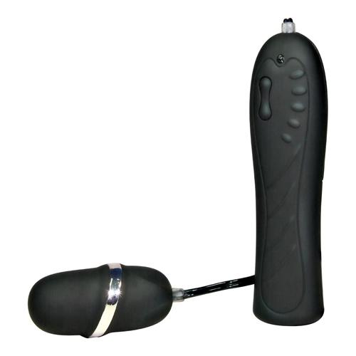 Klein zwart vibrerend eitje