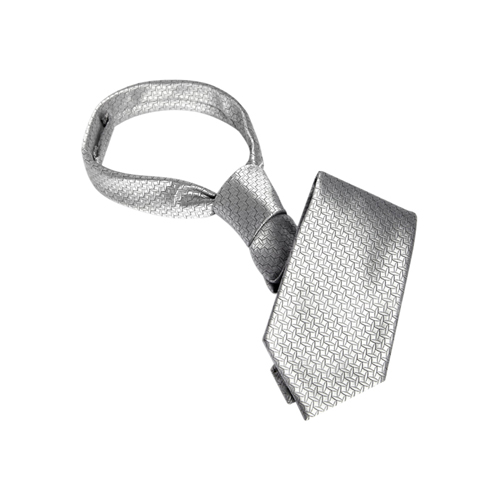 Christian Grey´s Stropdas Zilver – Fifty Shades of Grey