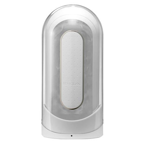 Tenga Flip Zero Vibrerende Masturbator Transparant – Tenga