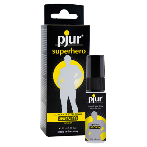 Superhero delay serum Transparant – Pjur