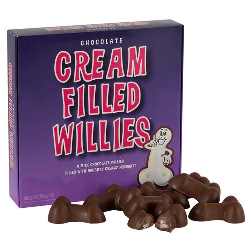 Chocolade Penissen Gevuld Met Crème